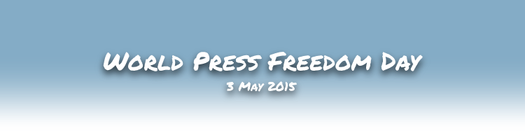 World Press Freedom Day 2015