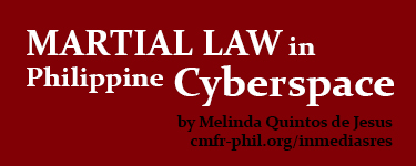 Martial Law in Philippine cyberspace