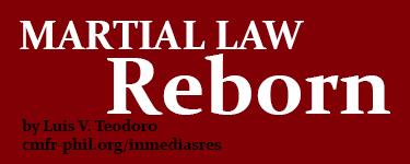 Martial Law Reborn