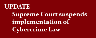 Supreme Court suspends implementation of cybercrime law